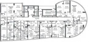Общий план этажа. Секция 4